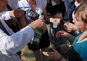 В Киеве за продажу алкоголя детям закрыли 30 торговых точек