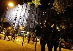 На востоке  Франции вторую ночь продолжаются массовые беспорядки