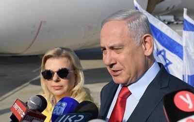 Жена Нетаньяху устроила скандал по пути в Киев - СМИ