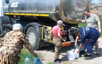 На Луганщине 80 тысяч человек остались без воды