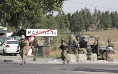 На блокпостах біля Маріуполя затримали 6 осіб