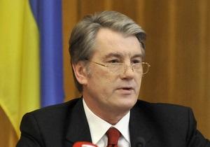 Ющенко гордится проведенными выборами