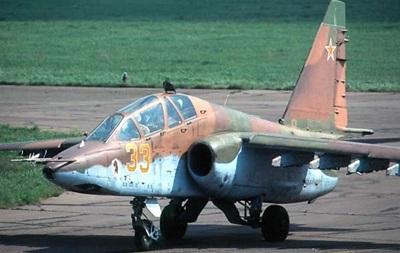 У Росії розбився штурмовик Су-25УБ