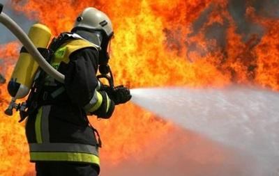 На трасі під Черніговом згоріла БМП