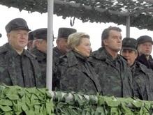 Фотогалерея: Ющенко на полигоне