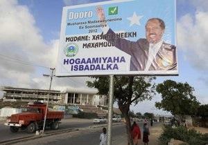 В Сомали преподаватель вуза избран президентом страны