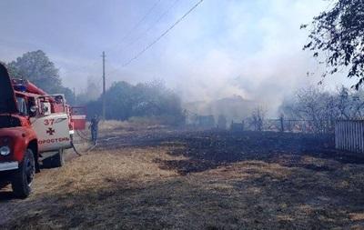 У Житомирській області гасять дві великі пожежі