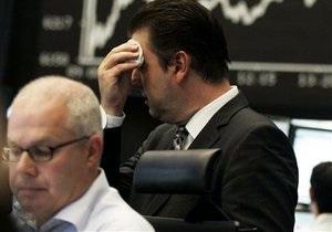 Европейские фондовые индексы упали из-за опасений дефолта Греции