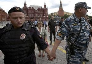 Мы не уйдем: На Манежной площади в Москве задержаны около 40 человек