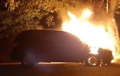 В Черкассах подожгли машину секретаря горсовета
