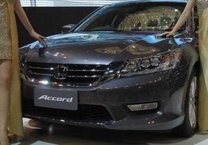 Новое поколение Honda Accord появилось в Украине