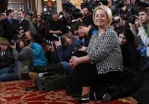 ПР рассчитывает отправить Тимошенко в отставку сразу после объявления результатов выборов