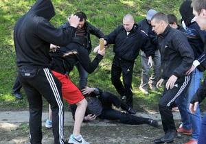 ПР: Во Львове в столновениях пострадали регионалы, журналисты и прохожие