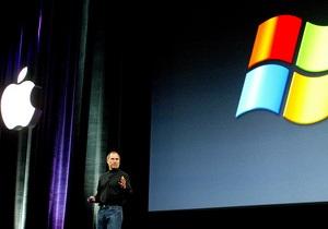 """Windows обещает """"не оставить камня на камне  в борьбе с Apple"""