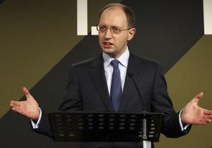 Яценюк поедет в Брюссель обсуждать перспективы подписания Соглашения об ассоциации Украины и ЕС