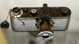 Фотоаппарат Leica продан на аукционе за 2,16 млн евро