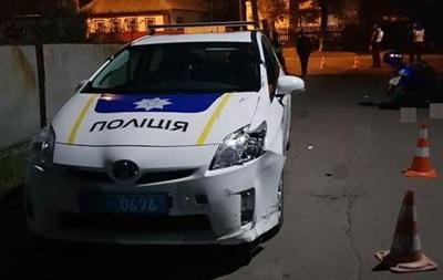 У Чернігівській області п яний водій мопеда врізався в копів