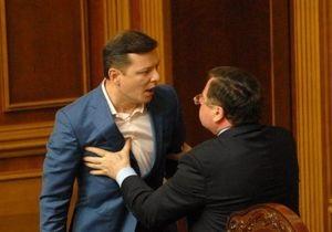 Литвин  с завистью  воспринимает нападение Мартынюка на Ляшко