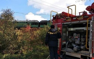 У Чернівецькій області загорівся поїзд