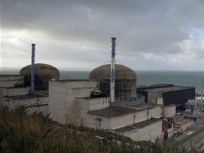На одной из АЭС во Франции остановлен ядерный реактор