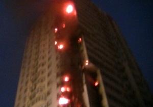 Пожар на Шулявке - пожар на шулявке сегодня - новости Киева - пожар - дом на Гетьмана - По факту пожара на Шулявке возбуждено уголовное дело