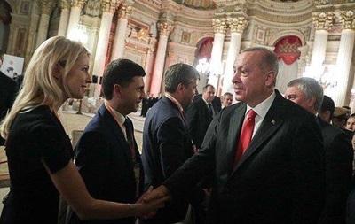 Ердоган вперше прийняв  депутатів  з Криму