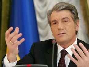 Ющенко обеспокоен медленной подготовкой законов по банковской системе