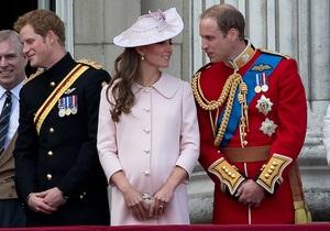 Принц Уильям с женой отказались заранее узнавать пол ребенка