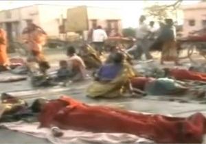 В Индии более сотни женщин после операций очнулись на земле перед госпиталем