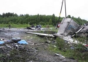 Вице-премьер РФ сравнил крушение Ту-134 в Карелии с катастрофой самолета Качиньского