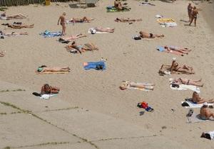 Почти половина пляжей в Украине не готовы принимать отдыхающих