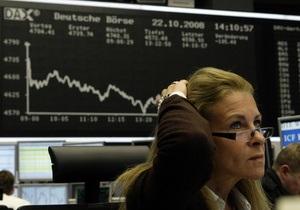 Котировки большинства украинских акций падают