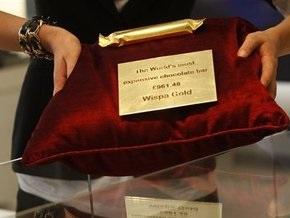 В Британии изготовили самую дорогую шоколадку в истории