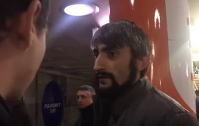 У Мережі з явилося відео з антимайданівцем Топазом у метро Харкова