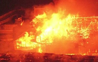 В Японии произошел пожар в замке из списка ЮНЕСКО