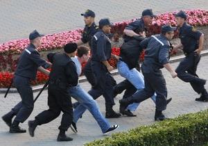 В Минске судят участников молчаливой акции протеста