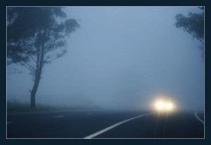 Погода в Украине - ГАИ предупреждает водителей о гололеде, туманах и дождях 27 декабря