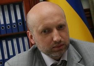 В милиции объяснили, зачем вызвали Турчинова на допрос