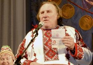 Жерар Депардье может стать членом Коммунистической партии РФ