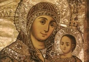 На Пасху киевляне смогут увидеть чудотворную икону Божьей Матери Вифлеемскую