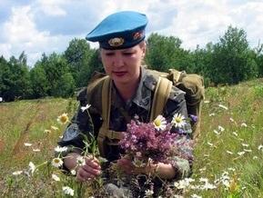 В украинской армии наблюдается женский бум