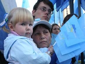 Янукович собрал на Майдане пять тысяч человек