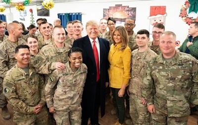 Трамп влаштував обід для військових США в Афганістані