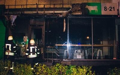 У Києві вп яте за місяць громлять і підпалюють магазини однієї з мереж