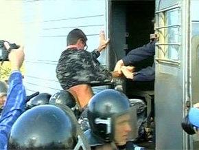 В Крыму крестьяне подрались с милицией. Правоохранители открыли огонь