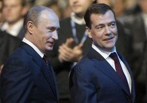 Лингвисты выяснили, какие слова чаще всего употребляют Медведев и Путин
