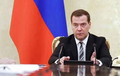 Медведєв назвав умову для транзиту газу