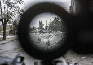 Сирийских повстанцев заподозрили в военных преступлениях