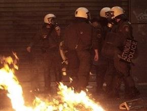 В Афинах произошли столкновения между полицией и анархистами