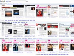 Google представил сервис для  перелистывания  интернет-новостей